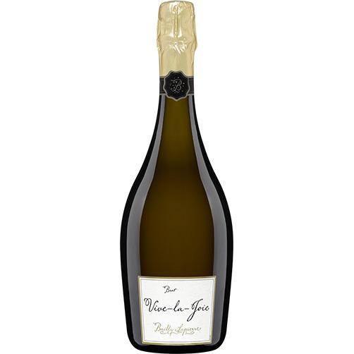 """Crémant de Bourgogne Brut Rosé """"Vive la Joie!"""" 2007- Bailly Lapierre"""