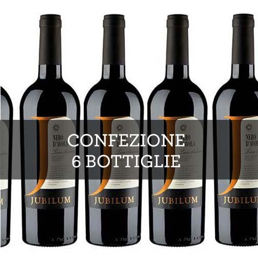 """Terre Siciliane Nero dAvola IGT """"Jubilum"""" 2013 (6 bottiglie)"""