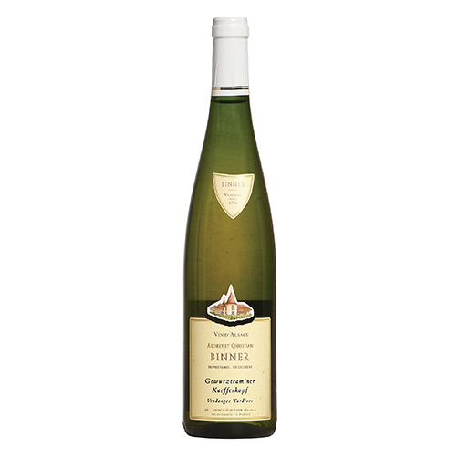 "Alsace Gewurztraminer Kaefferkopf Grand Cru ""Vendanges Tardives"""