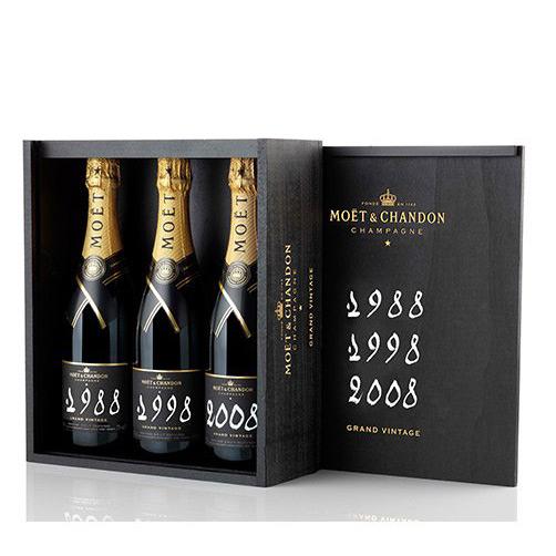 "Champagne Brut ""Grand Vintage Collection 1988 1998 2008"""