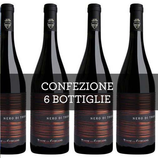 Puglia Nero di Troia IGP 2015 (6 bottiglie)