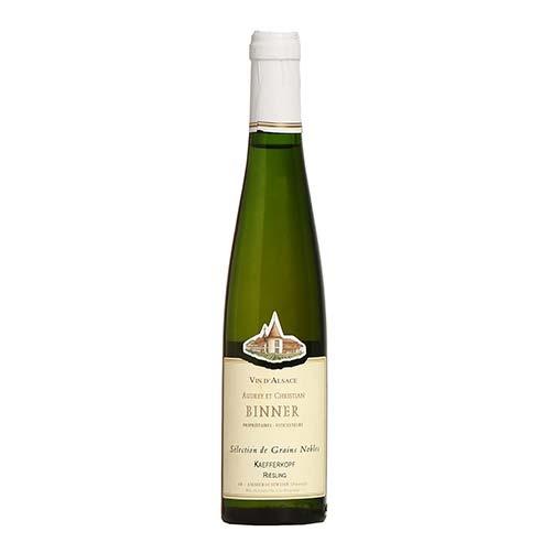 "Alsace Kaefferkopf Riesling ""Sélection de Grains Nobles"" 1997- Domaine Binner (0.375l)"
