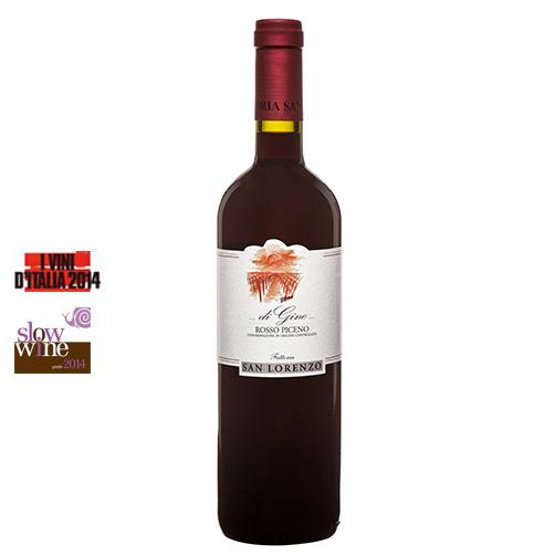 """Rosso Piceno DOC """"di Gino"""" 2013 Magnum"""