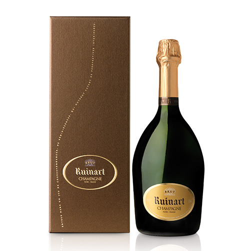 """Champagne Brut """"R de Ruinart"""" Coffret"""