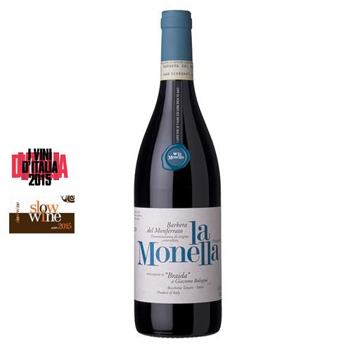 """Barbera del Monferrato Frizzante DOC """"La Monella"""" 2014 Magnum"""
