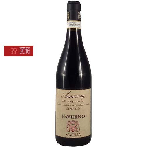 """Amarone della Valpolicella Classico DOCG """"Paverno"""""""