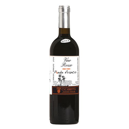 "Vino Rosso ""Piede Franco"""