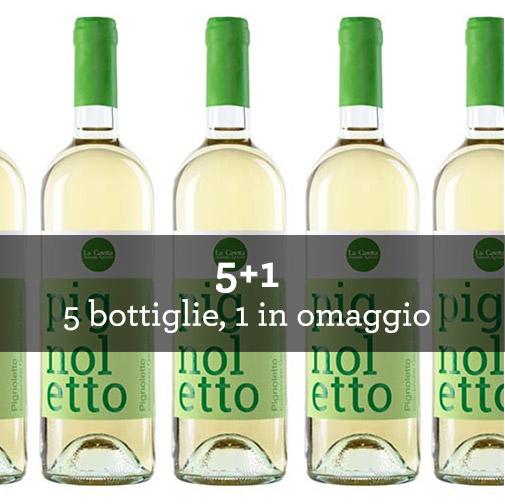 """Rubicone Pignoletto Frizzante IGT """"Pignoletto"""" 2015 (6 bottiglie)"""