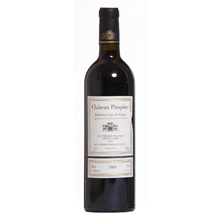 Bordeaux Côtes de Francs AOC Château Pimpine Rouge