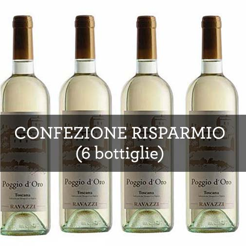 "Toscana Bianco IGT ""Poggio d'Oro"" 2015 (6 bottiglie)"