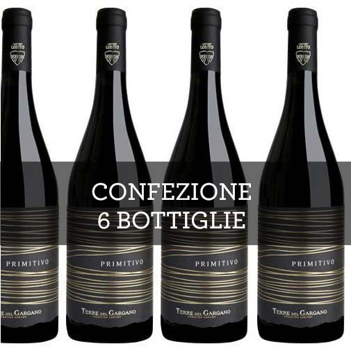 Puglia Primitivo IGP 2015 (6 bottiglie)