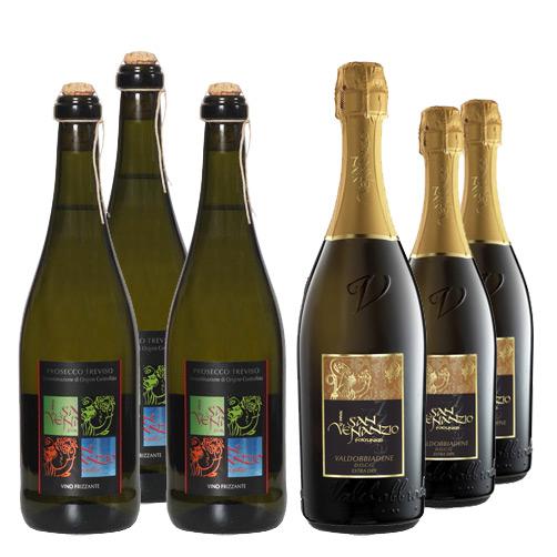 Prosecco di Valdobbiadene 6 bottiglie