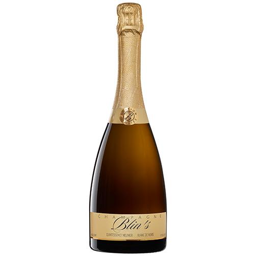 "Champagne Extra Brut Blanc de Noirs ""Blin's Quintessence Meunier"""