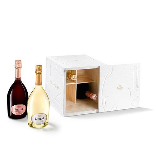 """Champagne Brut Blanc de Blancs e Brut Rosé """"Erwin Olaf"""""""