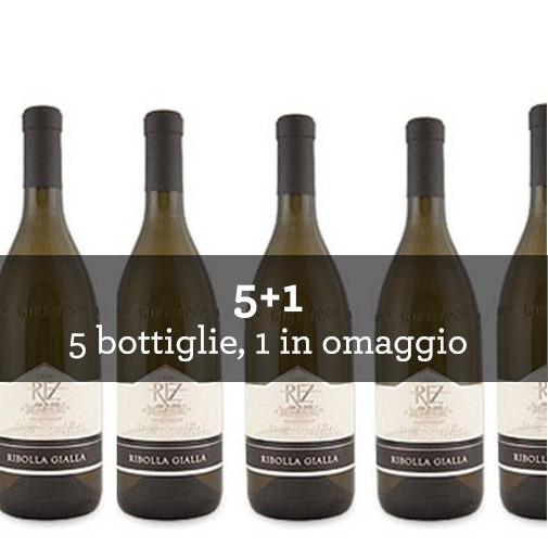 Venezia Giulia Ribolla Gialla IGT 2015 (6 bottiglie)