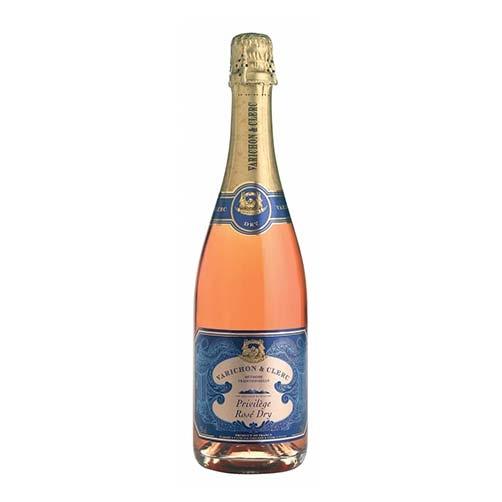 """Vin de Savoie Méthode Traditionnelle Dry Rosè """"Privilège"""""""