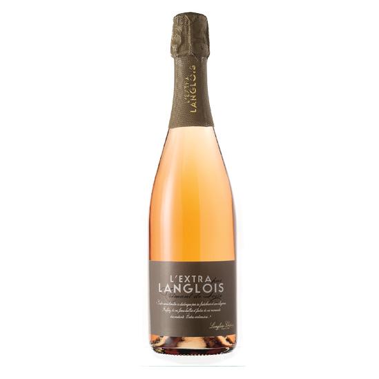 """Crémant de Loire Brut Rosé """"LExtra par Langlois"""""""