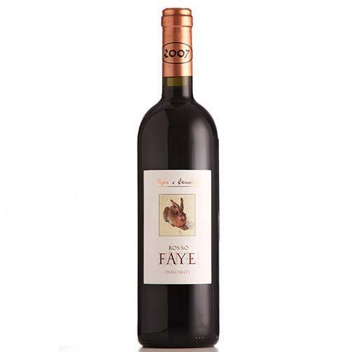 """Vigneti delle Dolomiti Rosso IGT """"Faye"""""""