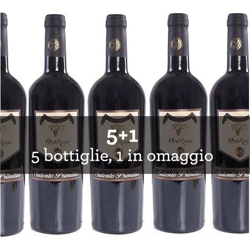 "Salento Primitivo IGT ""Oro Rosso"" 2013 (6 bottiglie)"
