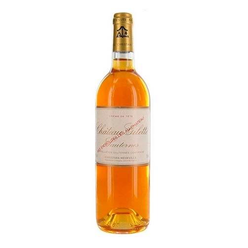 """Sauternes """"Créme de Tête Château Gilette"""""""