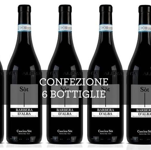 Barbera dAlba DOC 2015 (6 bottiglie)