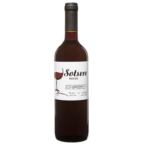 """Vino Rosso """"Sotsere"""""""