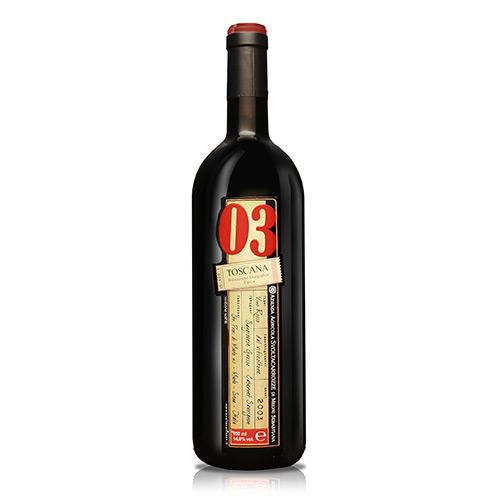 """Toscana Rosso IGT """"03"""""""