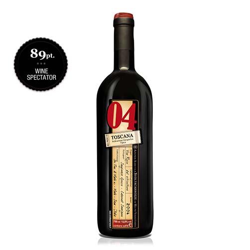 """Toscana Rosso IGT """"04"""""""