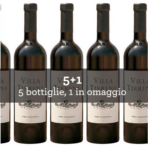 """Lazio Rosso IGT """"Villa Tirrena"""" 2012 (6 bottiglie)"""