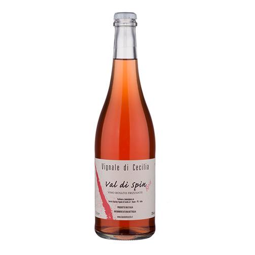 """Vino Rosato Frizzante Sur Lie """"Val di Spin"""""""