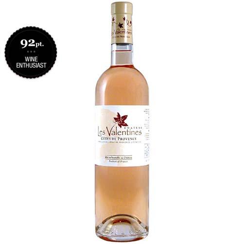 Château Les Valentines Rosé