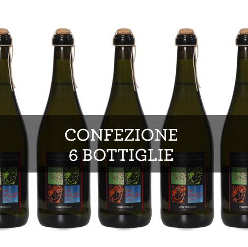 """Treviso Prosecco Frizzante DOC """"Spago"""" (6 bottiglie)"""