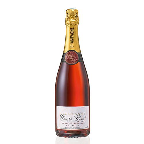 """Champagne Brut Rosé """"Charles Vercy Cuvée de Réserve"""""""