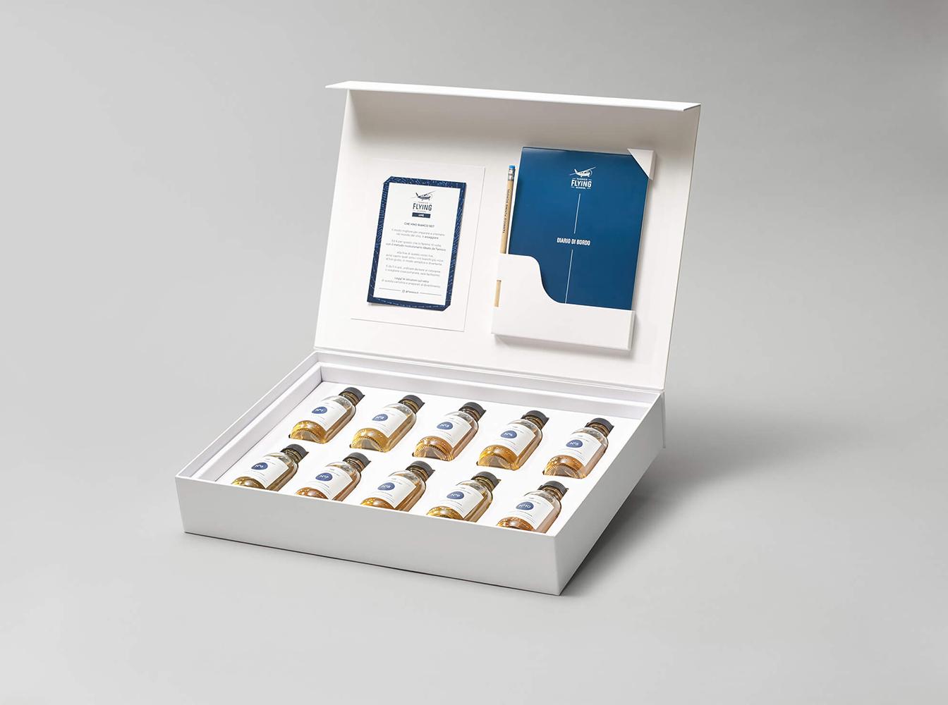 Kit scatola bianchi