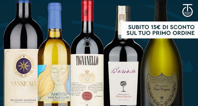 I migliori vini a prezzi eccezionali
